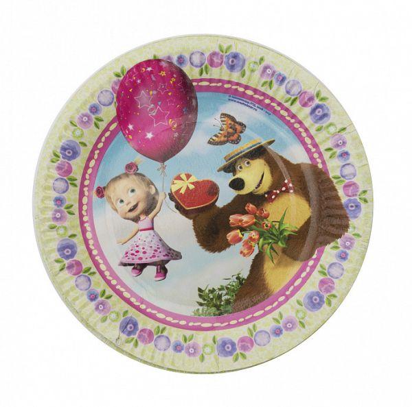 Набор тарелок (6 шт.), 18 см,