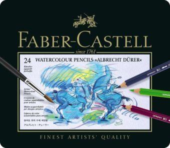 Акварельные  карандаши ALBRECHT DÜRER®, набор цветов, в металлической коробке, 24 шт.