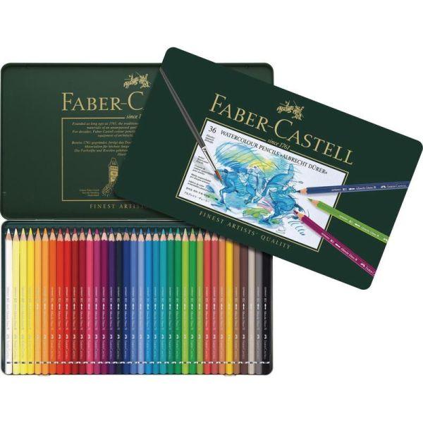 Акварельные  карандаши ALBRECHT DÜRER®, набор цветов, в металлической коробке, 36 шт.