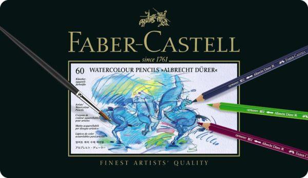 Акварельные  карандаши ALBRECHT DÜRER®, набор цветов, в металлической коробке, 60 шт.