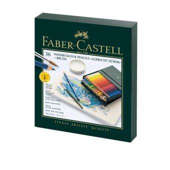 Акварельные  карандаши ALBRECHT DÜRER®, набор цветов, в студийной (кожзам) коробке , 36 шт.