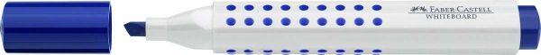 Маркер GRIP для белой доски, синий, клиновидный наконечник, в картонной коробке, 10 шт.