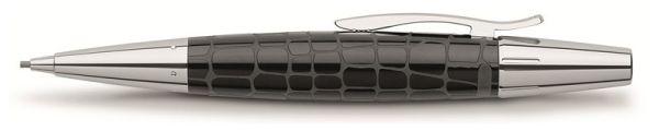 Механический карандаш E-MOTION EDELHARZ CROCO, 1,4мм, черная смола, в подарочной коробке, 1 шт.