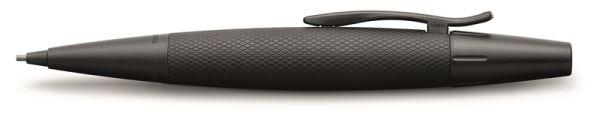 Механический карандаш E-MOTION PURE BLACK, 1,4мм, анодированный алюминий, в подарочной коробке, 1 шт.