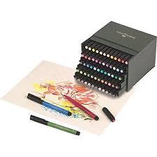 Капиллярные ручки PITT® ARTIST PEN, набор цветов, в студийной (кожзам.) коробке, 60 шт.