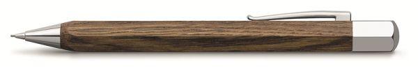 Механический карандаш ONDORO SMOAKED OAK, 0,7мм, мореный дуб, в подарочной коробке, 1 шт.