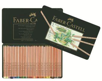 Пастельные карандаши PITT®, набор цветов, в металлической коробке, 36 шт.