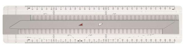 Рейсшина TK® - СИСТЕМА А4, в картонной коробке, 1 шт.