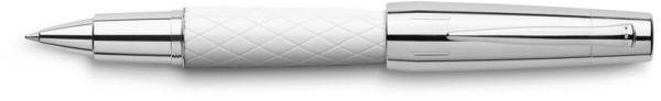 Роллер E-MOTION RHOMBUS, белая смола, в подарочной коробке, 1 шт.