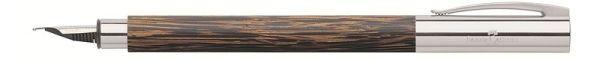 Перьевая ручка AMBITION COCOS, F, кокосовое дерево, в подарочной коробке, 1 шт.