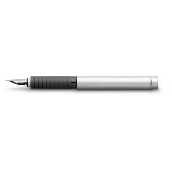 Перьевая ручка BASIC METAL, EF, матовый хромированный металл, в картонной коробке, 1 шт.
