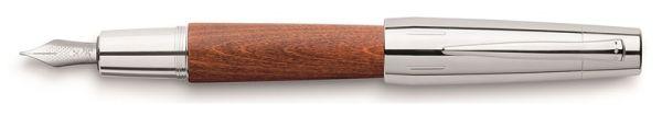 Перьевая ручка E-MOTION BIRNBAUM, F, светло-коричневая груша, в подарочной коробке, 1 шт.