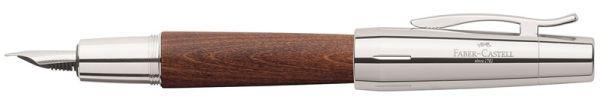 Перьевая ручка E-MOTION BIRNBAUM, F, темно-коричневая груша, в подарочной коробке, 1 шт.