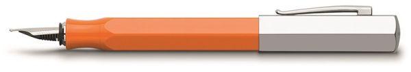 Перьевая ручка ONDORO EDELHARZ, B, оранжевая смола, в подарочной коробке, 1 шт.