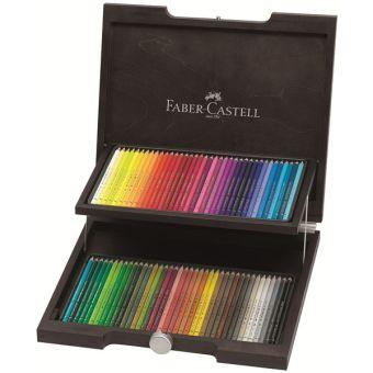 Художественный набор  с цветными карандашами POLYCHROMOS®, набор цветов, в деревянном пенале, 72 шт.