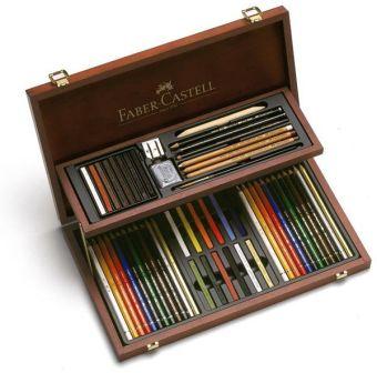 Художественный набор Art & Graphic Compendium, в деревянном пенале, 54 предмета