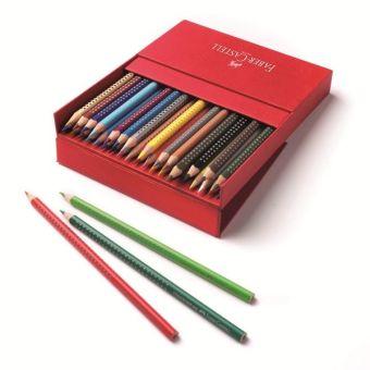 Цветные карандаши GRIP 2001, набор цветов,  в студийной (кожзам) коробке, 36 шт.