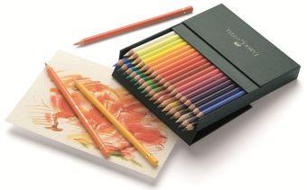 Цветные карандаши POLYCHROMOS®, набор цветов, в студийной (кожзам) коробке , 36 шт.