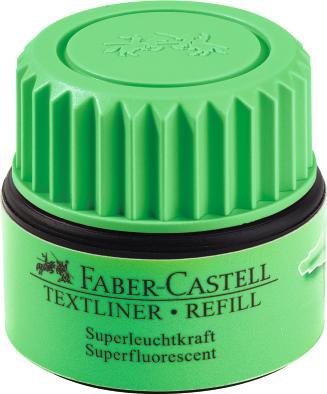 Чернила для текстовыделителя 1549, зеленый, в картонной коробке, 6 шт.