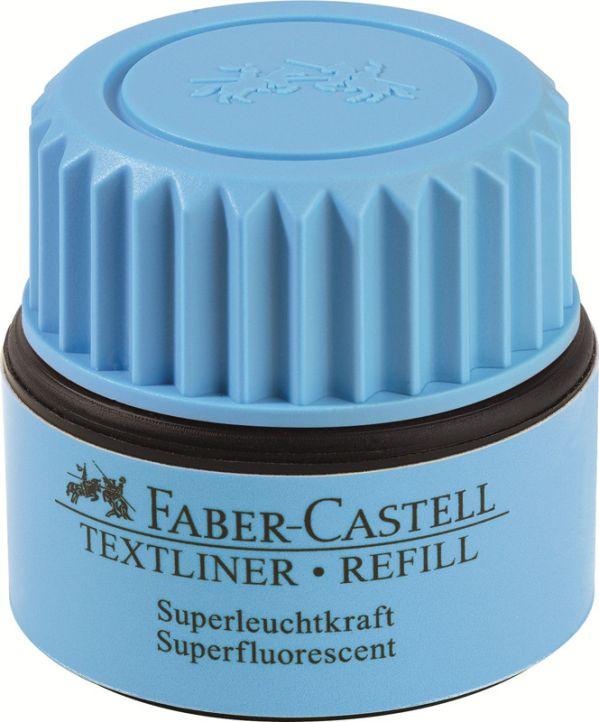Чернила для текстовыделителя 1549, синий, в картонной коробке, 6 шт.