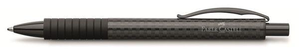 Шариковая ручка BASIC BLACK, карбон, в картонной коробке, 1 шт.