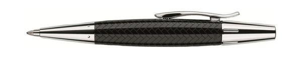 Шариковая ручка E-MOTION EDELHARZ PARKETT, B, черная смола, в подарочной коробке, 1 шт.