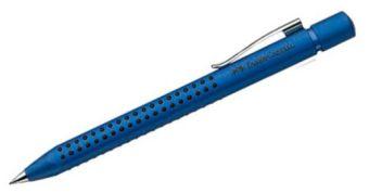 Шариковая ручка GRIP 2011, в картонной коробке, 5 шт. синий металлик