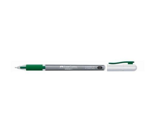 ШАРИКОВАЯ РУЧКА SPEEDX TITANIUM, 0,5 мм., картонная коробка, 10 шт. зеленый