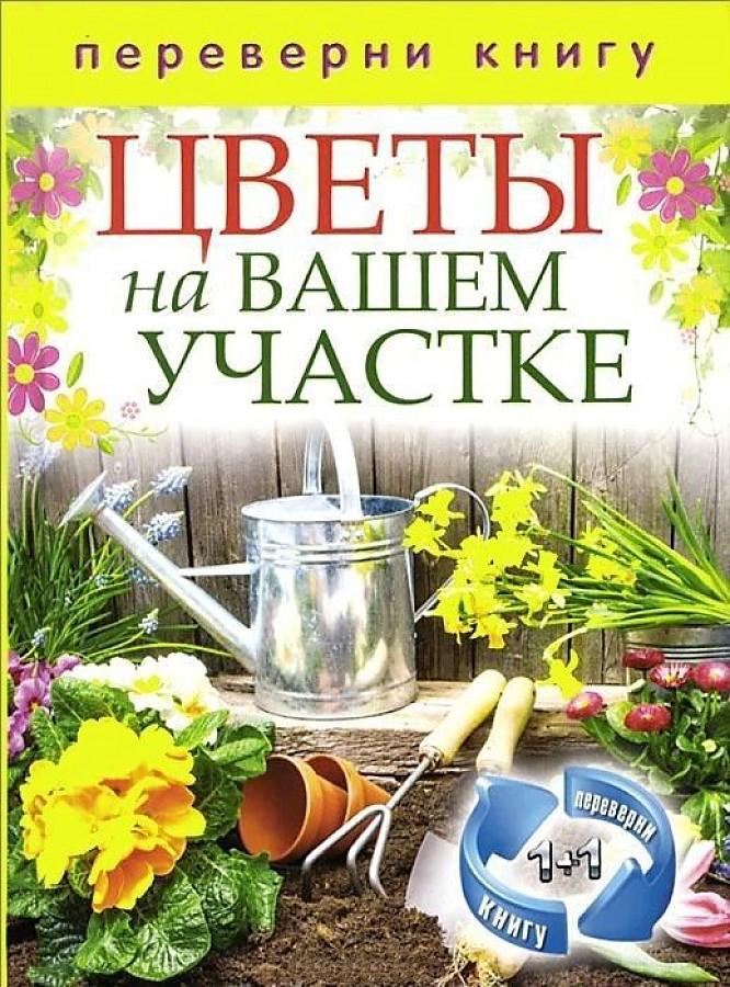 Сост. Кашин С.П. - 1+1 или, Переверни книгу. Цветы на вашем участке. Комнатные деревья и кустарники обложка книги
