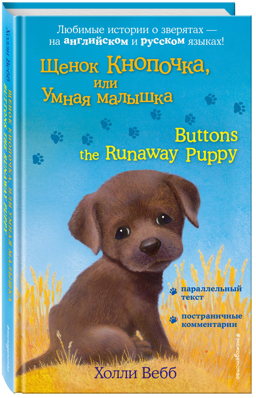 Холли Вебб Щенок Кнопочка, или Умная малышка = Buttons the Runaway Puppy вебб х щенок кнопочка или умная малышка