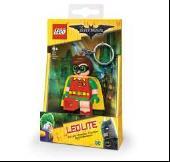 лучшая цена Брелок-фонарик для ключей LEGO Batman Movie (Лего Фильм: Бэтмен)-Robin (LGL-KE105)