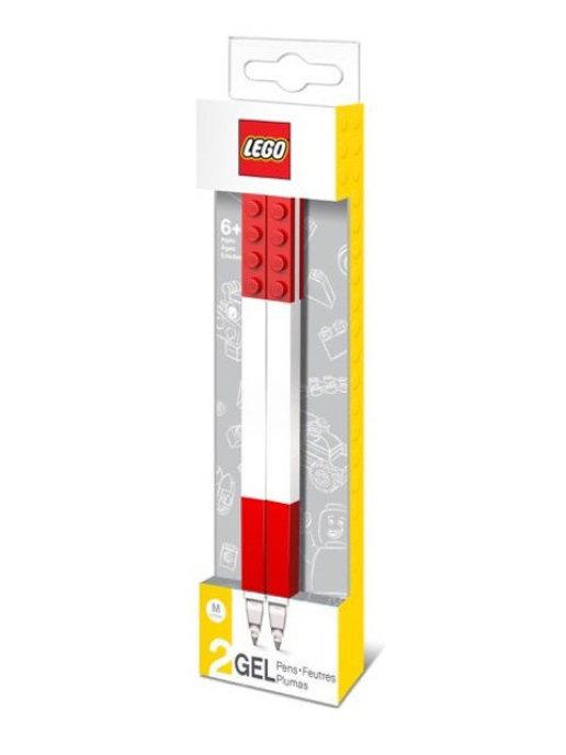 Набор гелевых ручек LEGO (2 шт., цвет: красный) (51675)