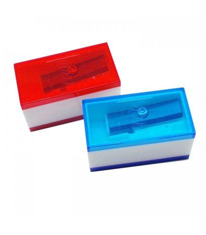 Набор точилок LEGO (2 шт., цвет: синий, красный) (51496) - фото 1