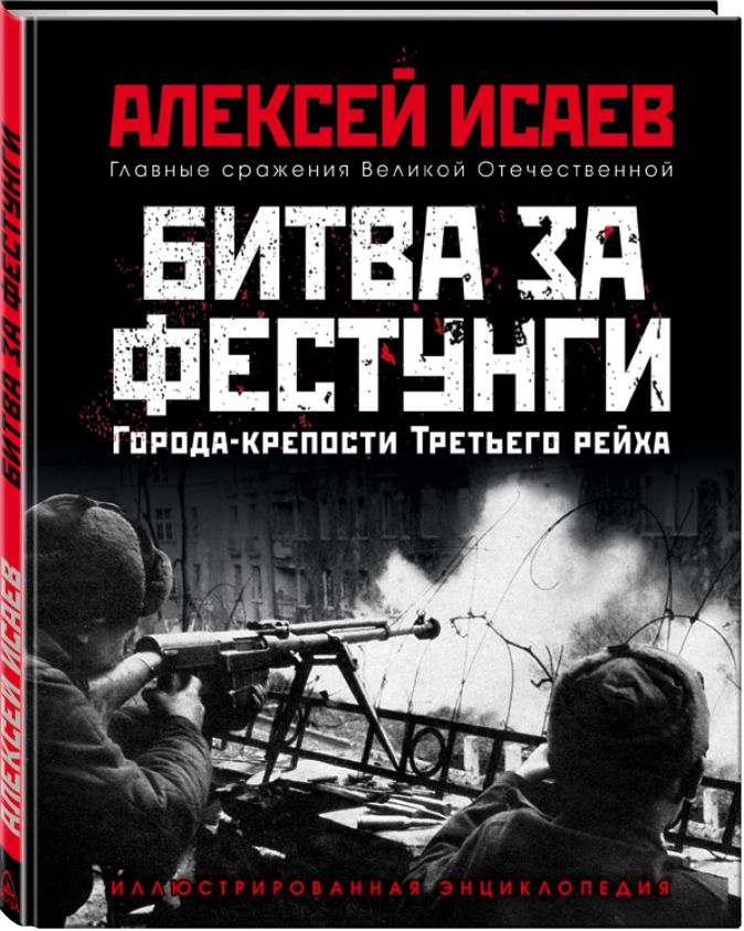 Алексей Исаев - Города-крепости Третьего рейха: Битва за фестунги обложка книги