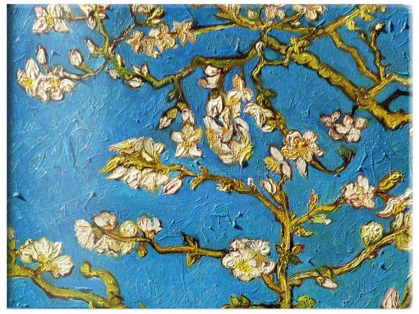 Чехол для карточек. Ван Гог. Цветущие ветки миндаля (в форме книжки) (Арте)