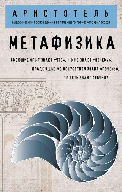 Метафизика (покет) - фото 1