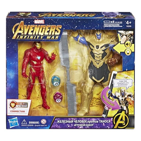 AVENGERS - AVENGERS Игровой набор Танос и Железный Человек обложка книги