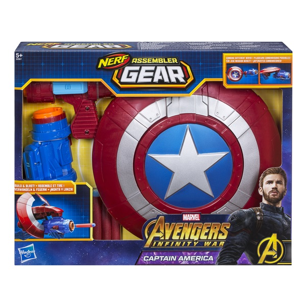 AVENGERS - AVENGERS Игрушка экипировка Капитана Америка обложка книги
