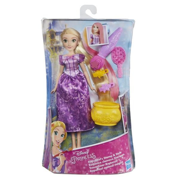 Disney Princess - DISNEY PRINCESS Кукла ПРИНЦЕССА ДИСНЕЙ РАПУНЦЕЛЬ магия волос обложка книги