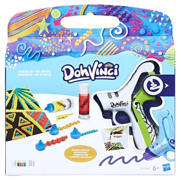 DOH-VINCI - DOH-VINCI Набор для творчества ДаВинчи Базовый обложка книги