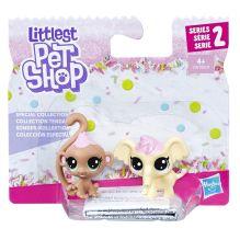 Littlest Pet Shop Набор игрушек 2 зефирных ПЕТА
