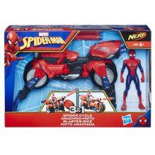 Spider Man Игрушка фигурка ЧЕЛОВЕК-ПАУК и транспорт