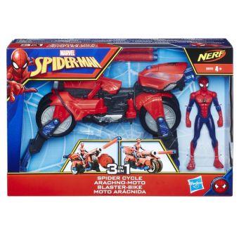 Spider Man Игрушка фигурка ЧЕЛОВЕК-ПАУК и транспорт SPIDER-MAN