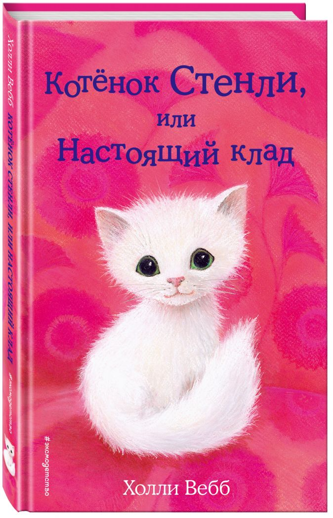 Холли Вебб - Котёнок Стенли, или Настоящий клад (выпуск 37) обложка книги