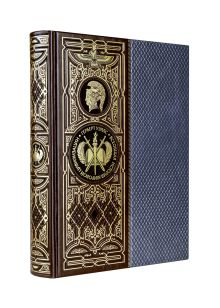 Всеобщая история мировой цивилизации. Книга в коллекционном кожаном переплете ручной работы с окрашенным обрезом