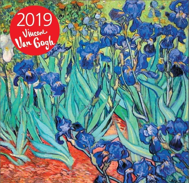 Ван Гог. Календарь настенный на 2019 год. (170х170 мм)