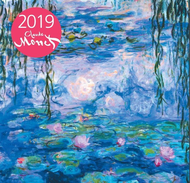 Моне. Календарь настенный на 2019 год. Малый формат