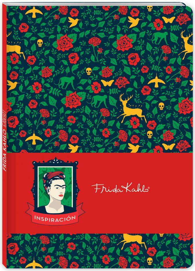 Блокнот. Frida (формат А4, мягкая обложка, круглые углы, блок в точку) (Арте)