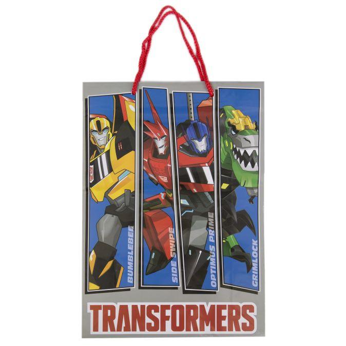 """Пакет подарочный """"Трансформеры"""", 25*9*35см"""