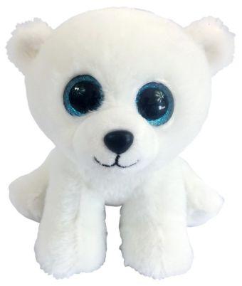 Медвежонок полярный белый, 15 см